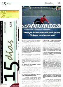 Periódico 15 días - 2012