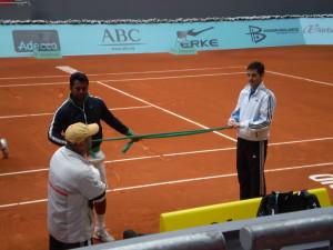 Leander Paes - Madrid Open 2009