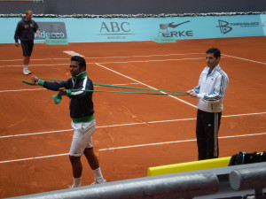Leander Paes - Madrid Open 2009