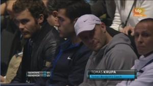 Londres 2011 - Tomas Berdych vs Novak Djokovic