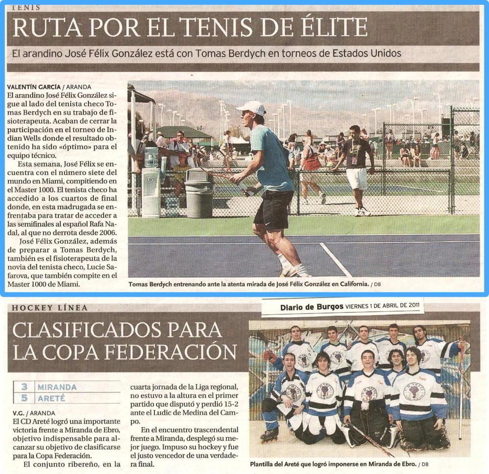 Diario de Burgos - 1 Abril 2011
