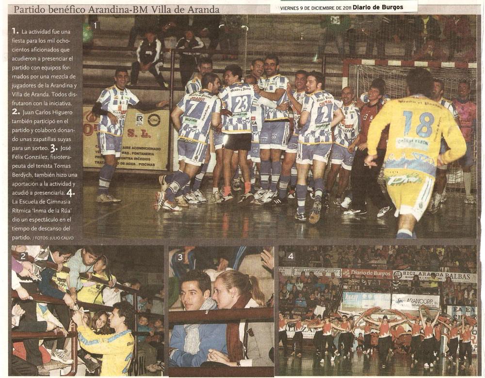 Diario de Burgos - 9 Diciembre 2011