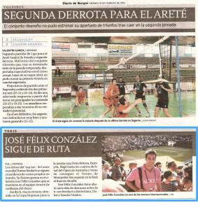 Diario de Burgos - 9 Octubre 2011