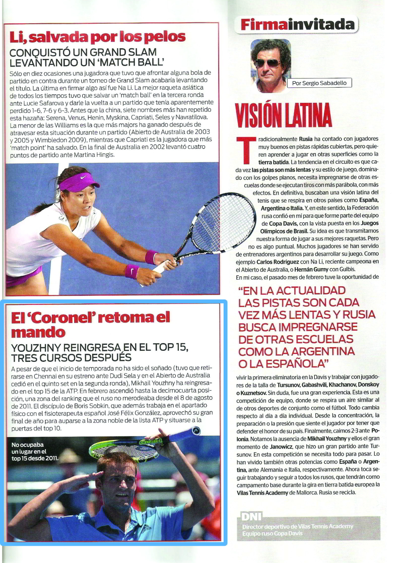 World Tennis - 2013