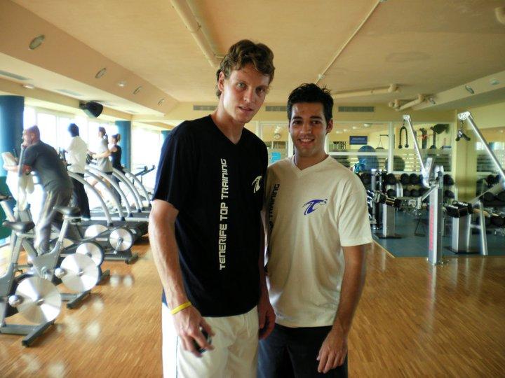 Preparación Temporada 10-11 - Tomas Berdych